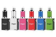 hecig Wax&dry herb vaporizer Casper Trio vaporizing box mod electronic cigarette vape Kit 1000mah battery