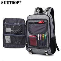 Mannen rugzak Mannelijke Waterdichte USB opladen travel School Sport rugzak oxford casual laptop rugzak Casual Voor mannen tas pack