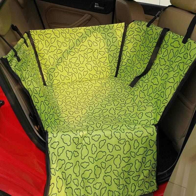 CAWAYI KENNEL PVC Waterproof Small Pet Dog Cat Car Seat Cover Mat Blanket Rear Back Dog Car Seat Protection Hammock D0041 9