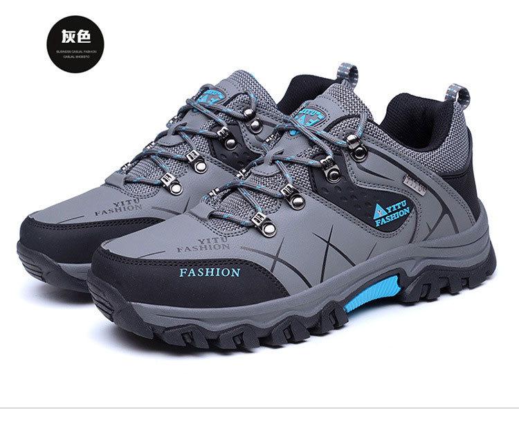 2019 latest low to help outdoor hiking shoes 8517 non-slip wear camping walking shoes male factory direct sales