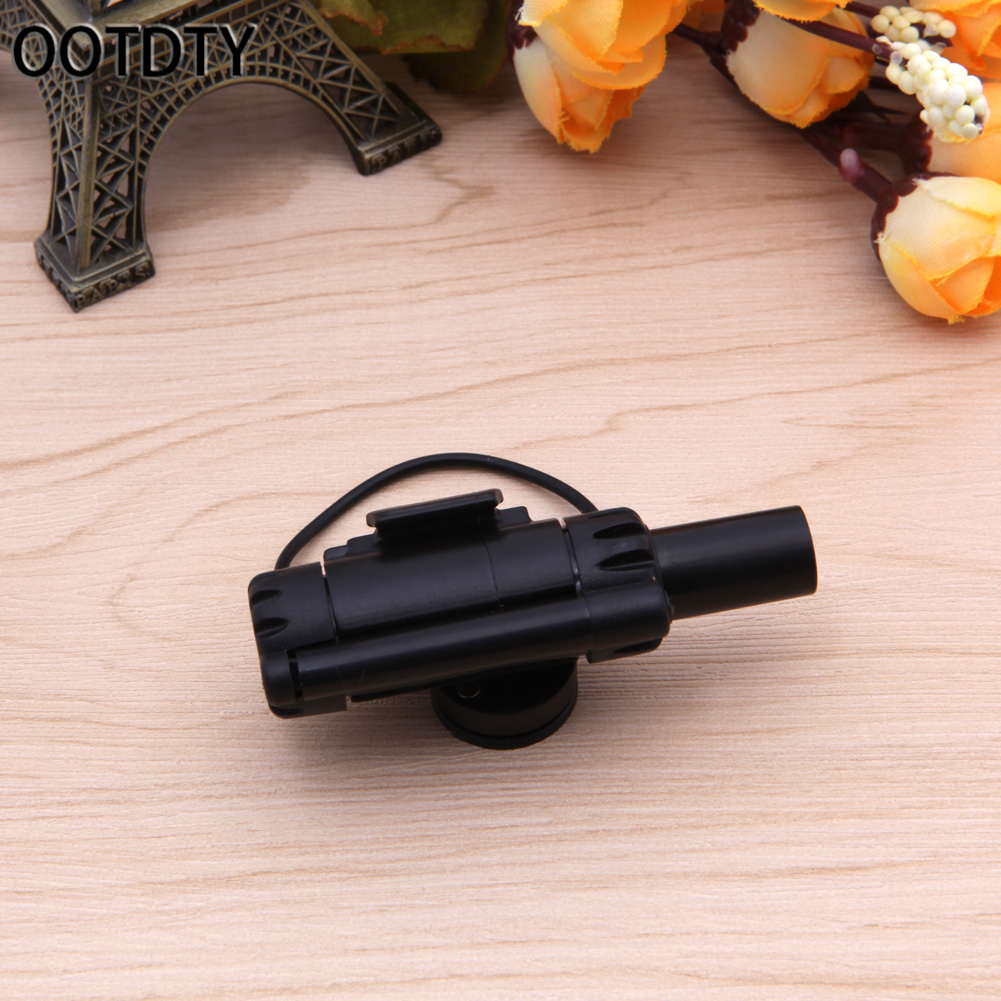 OOTDTY 1PC Good Quality Outdoor Black Electronic LED Light Fish Bite Sound Alarm Bell Fishing Rod