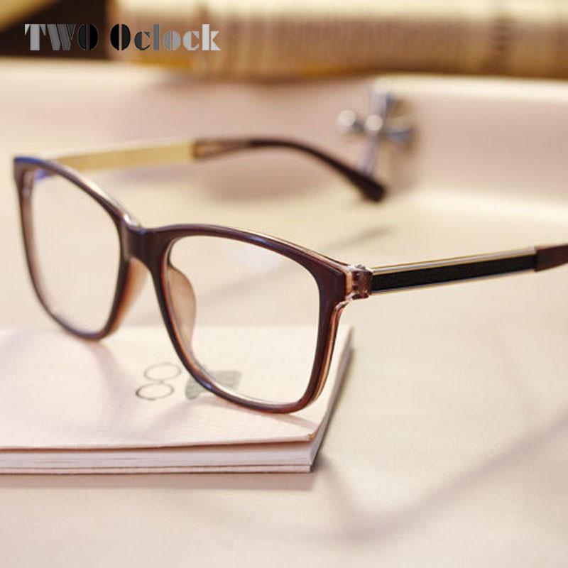 TWO Oclock Brand Designer Oversized Glasses Frames Women Square ...