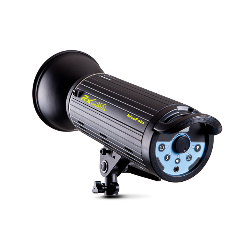 NiceFoto photography lights RX-400 400W  Studio Flash fast recycling time studio light lamp touch button