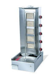 Gas Doner Kebabs machine Turkey grill Electric Vertical Broiler for lamb