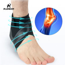1pcs Sports Ankle Support Protect Football Basketball Badminton Protection Bandage Elastic Ankle Sprain Brace Guard Protect