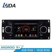 LJDA Android 9.1 Car Radio Multimedia DVD GPS For Chrysler 300C PT Cruiser Aspen Sebring Dodge Caliber Ram Jeep Grand Cherokee