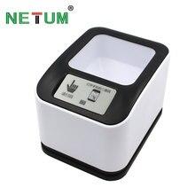 NETUM Omnidirectionnel 2D QR Code À Barres Scanner Présentation Plate-Forme Lecteur de Code à Barres Pour Mobile et Ordinateur Écran NT-2100