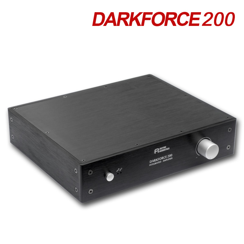 QUEENWAY DARKFORCE200 Digital Amplifier Digital AMP Class D Delicate Amplifier 6.65KG RCA Input linep a915 digital amplifier