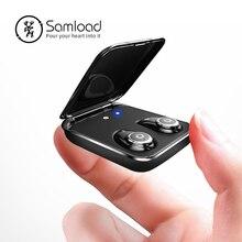 Bluetooth 5,0 наушники True Беспроводной наушники IPX7 Водонепроницаемый стерео гарнитура 2000 мА/ч, Мощность банк заряда телефона для iPhone 6s 7 sony