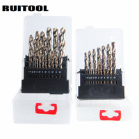 RUITOOL Cobalt Drill Bit Set Original M35 Twist Drill Bit Metal Cutter 1 10mm 1 13mm
