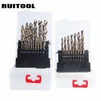 RUITOOL Cobalt Drill Bit Set Original M35 Twist Drill Bit Metal Cutter 1 10mm 1 13mm