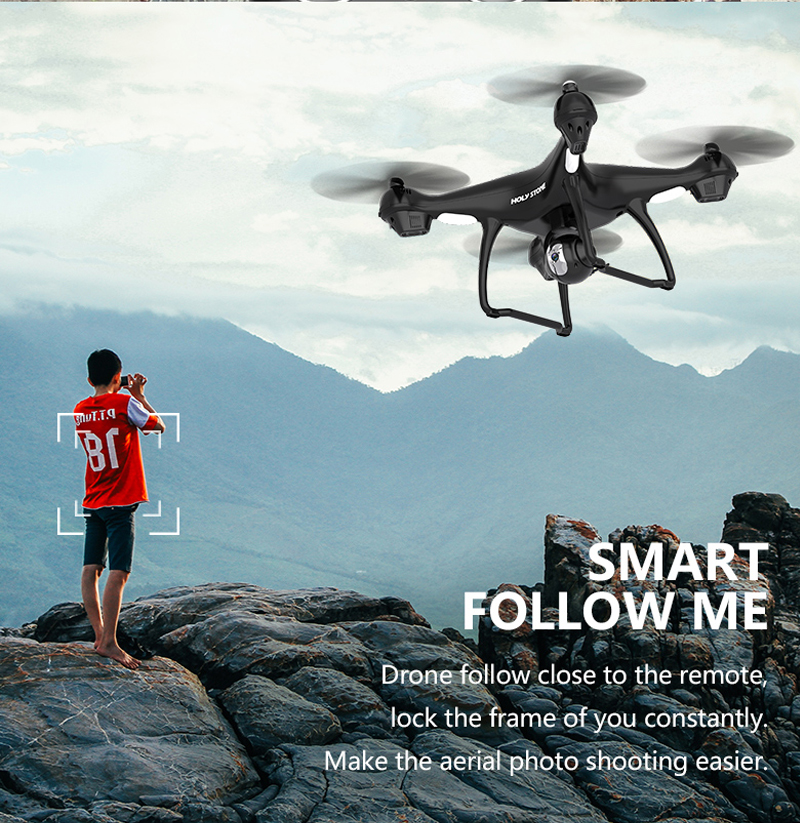 Holy Stone HS100 GPS FPV თვითმფრინავის - დისტანციური მართვის სათამაშოები - ფოტო 3