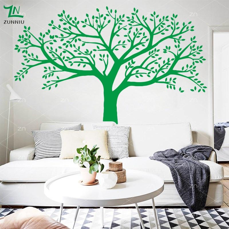 ZN merk stamboom muurstickers extra grote fotolijst boom muurstickers - Huisdecoratie - Foto 6