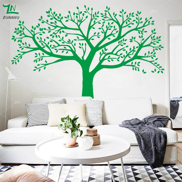 Comparar Zn marca familia árbol tatuajes de pared foto de gran ...