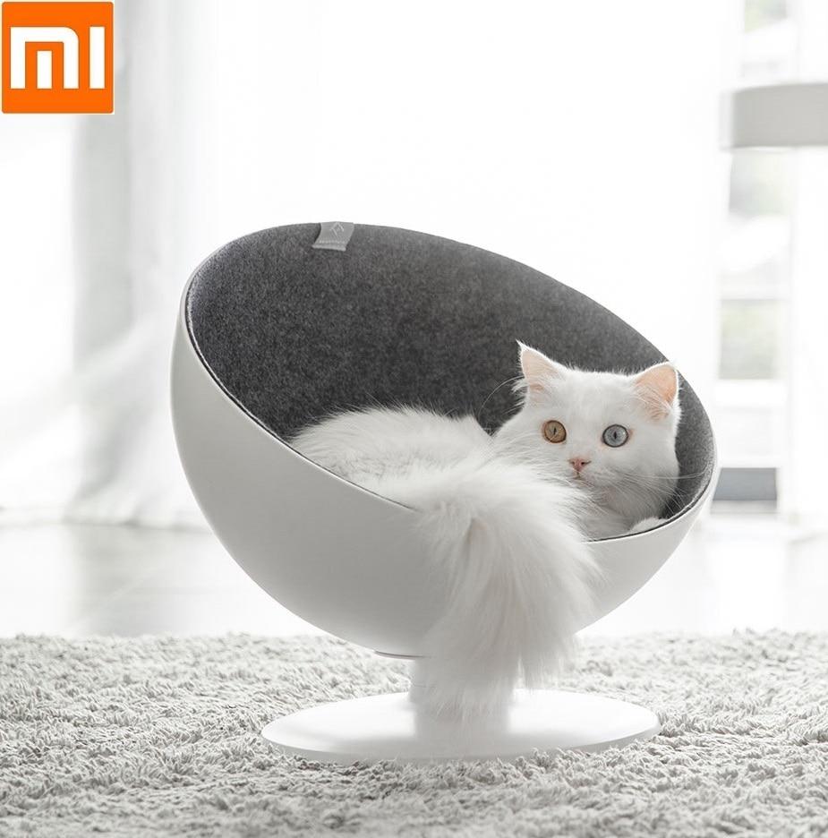 Super Xiaomi Beautiful Fashion Boss Chair Shape Cat Bed Cat Nest 360 Degree Rotation Detachable Cushion Mat High Grade Cat Nest Customarchery Wood Chair Design Ideas Customarcherynet