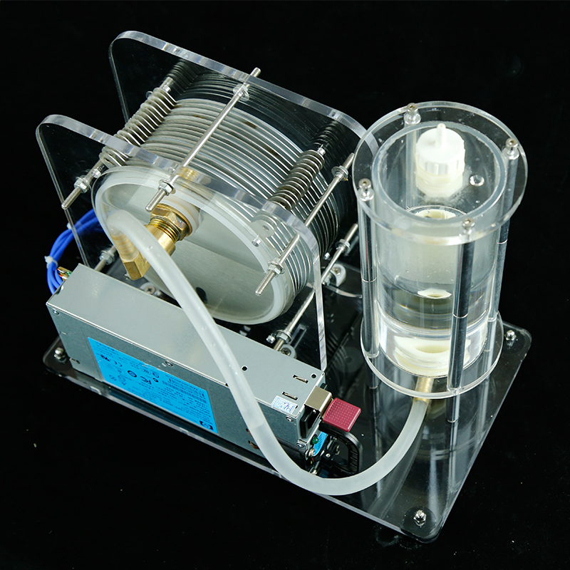 cool electrolysis of water generator Electrolyzer 200 300W 220V 12V Teaching model