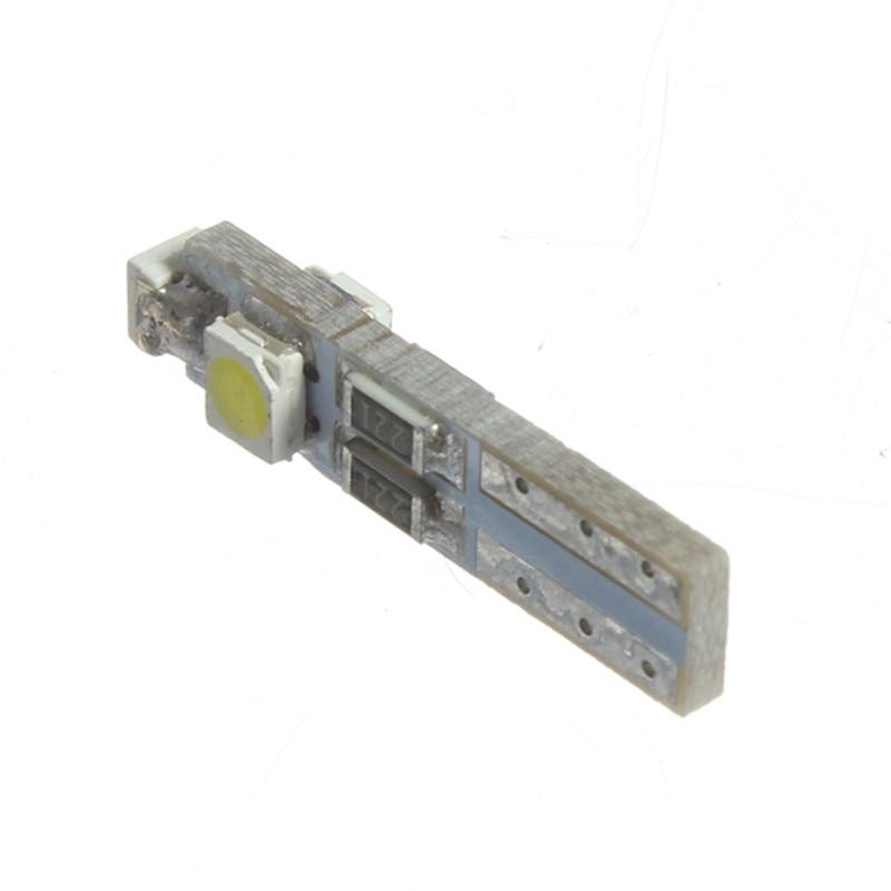 10pcs T5 3528 SMD 3 LED Auto Car Indicator Light Lamp Dashboard Gauge Lights Instrument Warning Signal Bulbs Car Styling