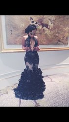 Long prom dresses 2017 mermaid halter deep v neck sleeveless backless lace applique floor length prom.jpg 250x250