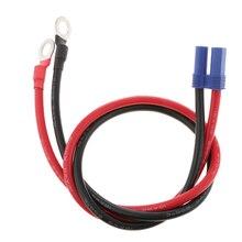 Câble dadaptateur dalimentation de secours de démarreur de saut de voiture 12 V connecteurs de 24V EC5 au Terminal danneau 500mm anticorrosion