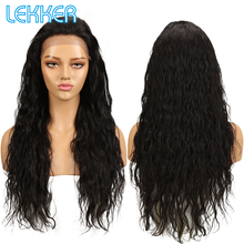Lekker Malaysia Lace Frontal Human Hair Wigs Body Wave Human Hair Lace Front Wigs 150 Density Lace Front Wigs For Beauty Women cheap Remy Hair NONE Swiss Lace Average Size RJH-180138SW