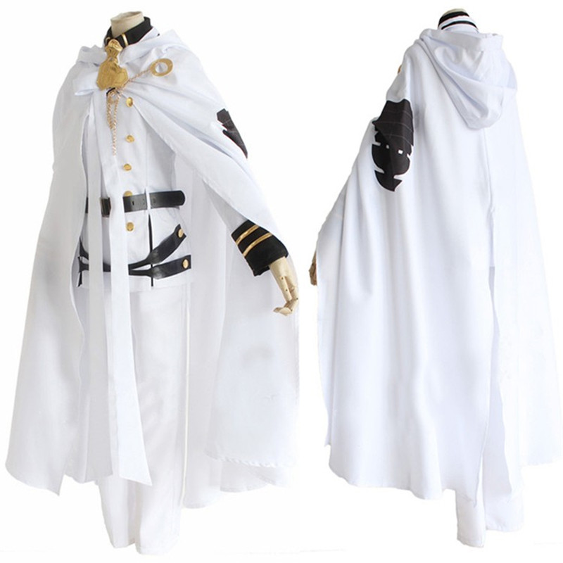 Anime Seraph Of The End Mikaela Hyakuya Adult Costumes For Women/Men Cosplay Costuems D015 160