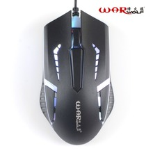 Professional Wired Mouse 1000DPI USB Optical Gaming Mouse Gamer Mice For Laptop Computer With LED Backlight