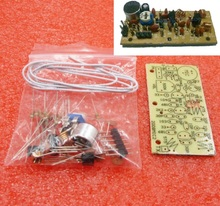 DC 1.5V 9V mikrofon bezprzewodowy FM DIY Kit DIY części do elektronicznych zestawów edukacyjnych 80MHz 108MHz