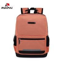 RUIPAI Brand Reflective Nylon School Bags For Teenagers Fashion Women Backpacks Large Capacity Men S Backpack