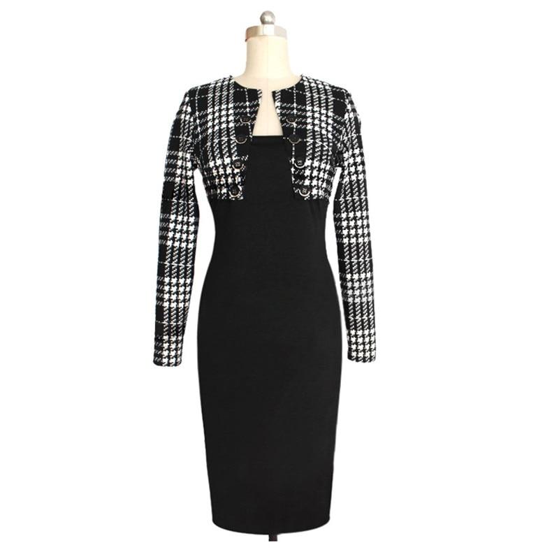 Black 2 piece maxi dress