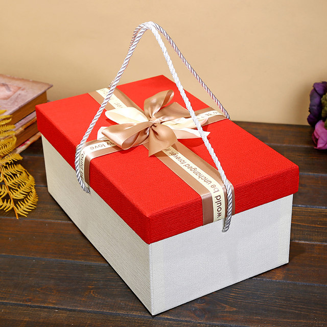 Online Shop Three Size Large Present Gift Packing Box High Quality - large gift boxes with lids