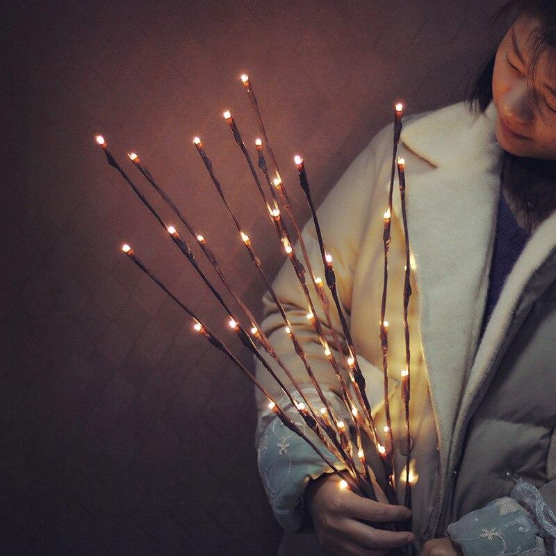 Decoratie Takken Met Verlichting. Excellent Kerst Decoratie With ...