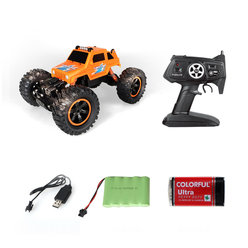 все цены на RC Car 2.4G 4CH 4WD Rock Crawlers 4x4 Driving Car 1:12 Electric Remote Control Trucks Climbing Cars Toy Remote Control For Kid онлайн