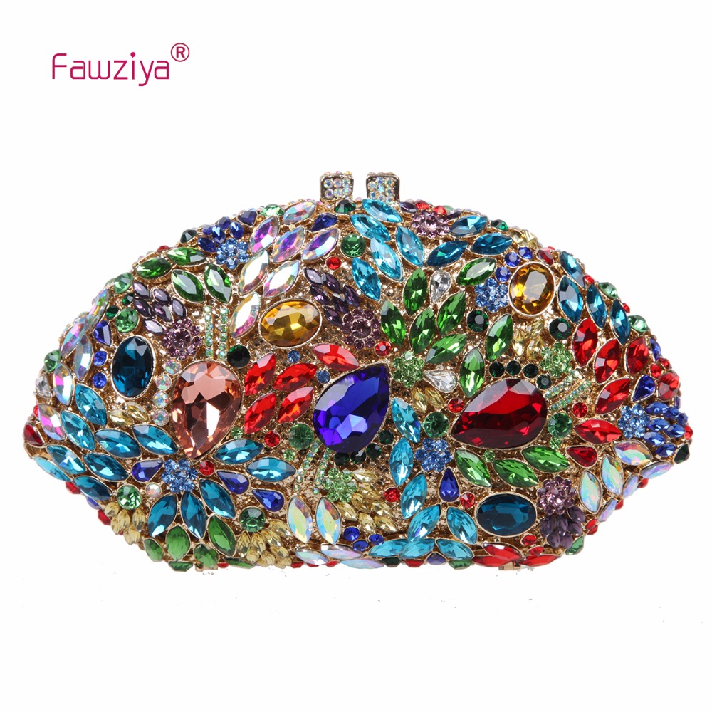Fawziya Party Clutches For Women Bling Rhinestones Evening Purses For Womens Clutch Bags ideal lux встраиваемый светильник ideal lux swing alluminio