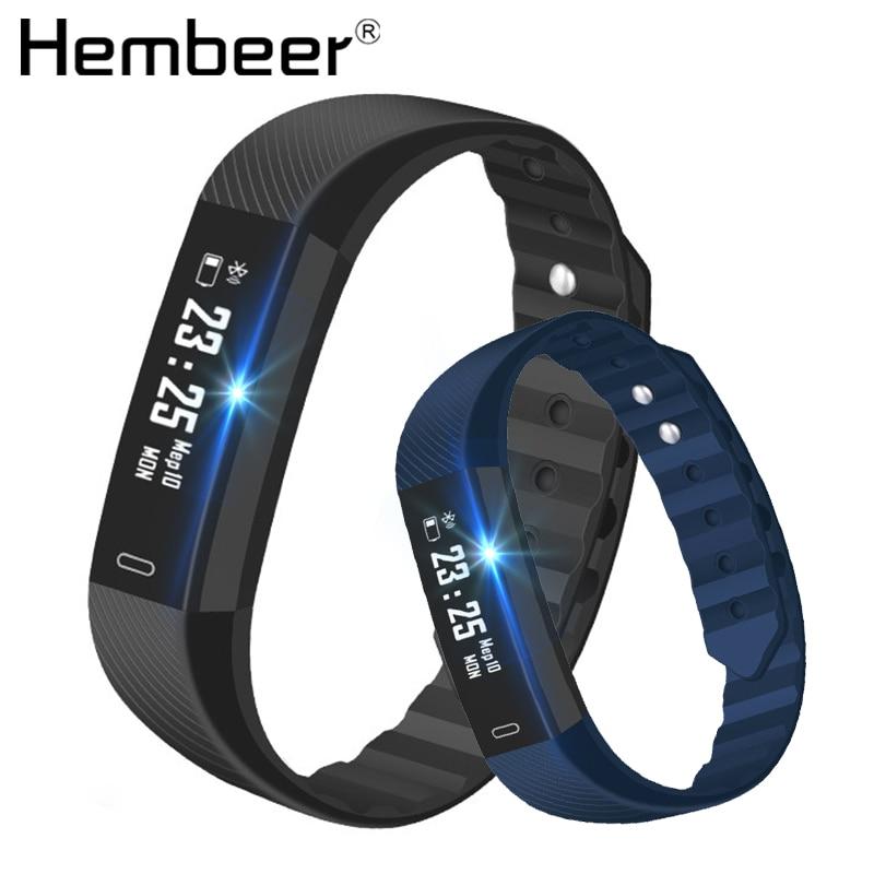 ID115 pulsera inteligente rastreador de Fitness de contador de paso Monitor de actividad banda reloj de alarma de vibración pulsera USB de carga PK FITBITS