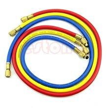 """Бесплатная доставка, набор зарядных шлангов для кондиционера HVAC R12 R22 R502, 36 """"A/C"""