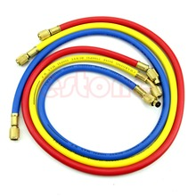 """Free delivery 36"""" A/C Charging Hose Set for HVAC Air Condition Refrigerant R12 R22 R502"""