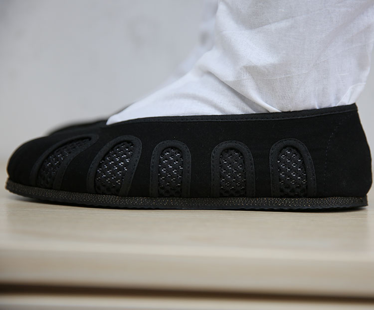 Wudang Daoist Summer Shoes Black 4