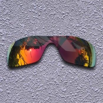 cb7c9af809 Lentes de repuesto polarizadas Rojas púrpura para gafas de sol Oakley  Batwolf
