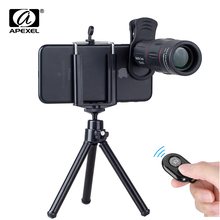 APEXEL Mobile Phone Lenses 18X Telescope Monocular Zoom Came