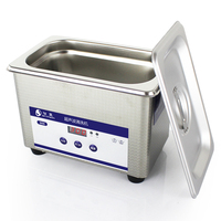 800ML Exquisite Stainless Steel Ultrasonic Cleaner Digital Ultrasound Wave Washing Unit