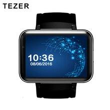 TEZER top sports 900mAh Battery 5.1 android wrist smart watch 3G GPS wifi GSM BT video player Sleep Tracker support for Whatsapp