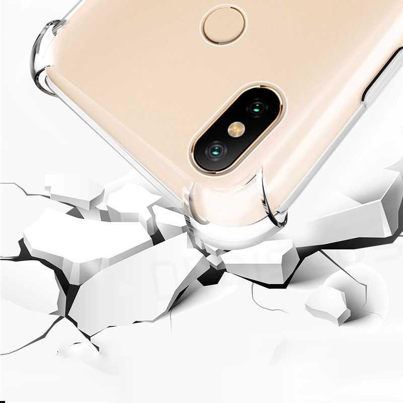 กรณี Redmi S2 4A 6A 7A 8A 5 Plus 6 Pro หมายเหตุ Note 4 4X 5A PRIME 7 8T 9S 10 สำหรับ Xiaomi Mi 8 9 SE A2 Lite A1 A3 Pocophone F1 กันกระแทกฝาครอบซิลิโคน