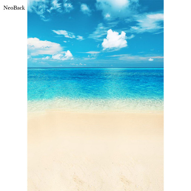 Neoback 5x7ft Poly Vinyl Estate Mare Spiaggia Guarda Foto Sfondi