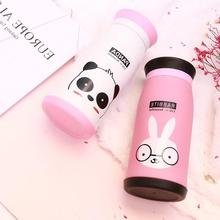 250ML/350Ml Cartoon Stainless Steel Thermos Tumbler Cups Vacuum Flask thermo Water Bottle Tea Mug Thermocup Birthday Couple Gift