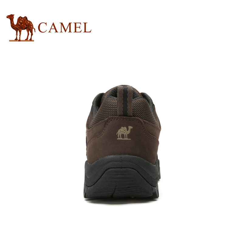 Camel outdoor hiking shoes sneakers men trekking shoes anti-skid shock absorption sweat wear low to help outdoor shoes A63202616