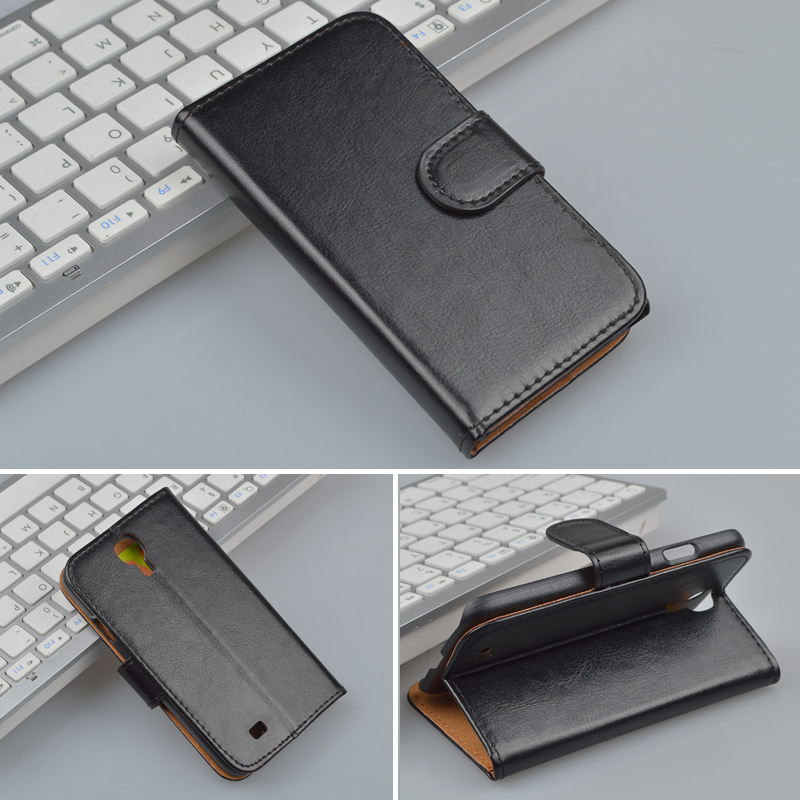 For Samsung Galaxy S4 i9500 GT-i9500 GT-i9505 i9505 i9506 case Wallet with Stand and Card Holder 4 Colors Available