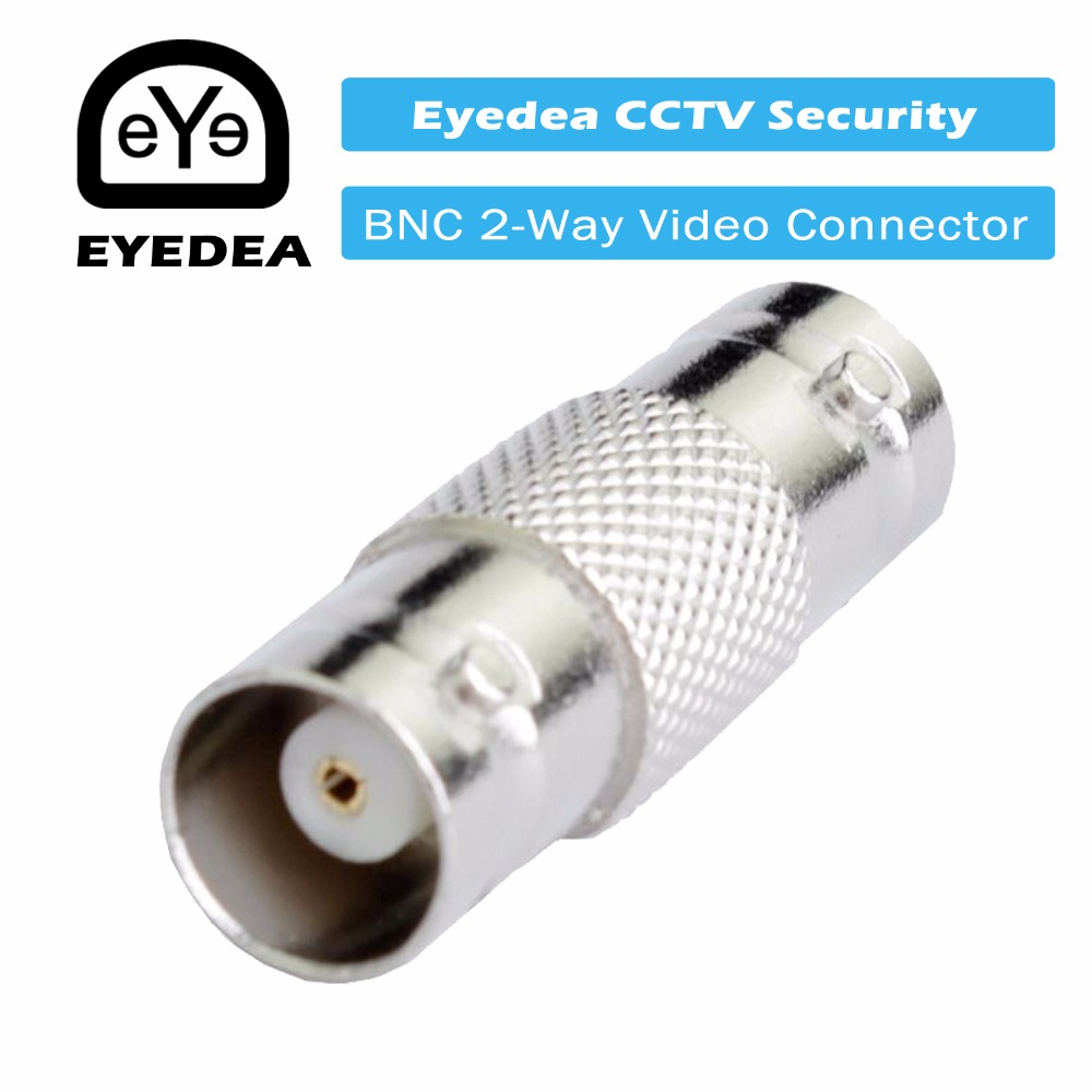 1 x Coaxial BNC F/F Female to Female Extension Coupler Connector Adapter for Video Surveillance CCTV Security Camera Cable Cord 1 5m bnc male to rca male jack coaxial cable connector video adapter for cctv camera system camera accessories