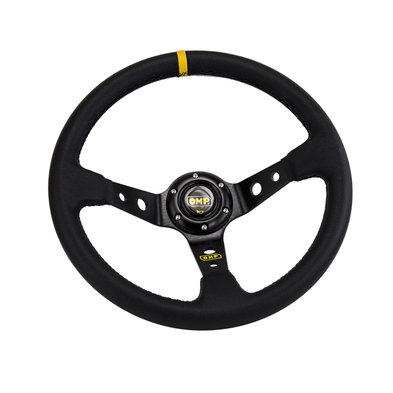 Image 5 - 14inch 350MM OMP Steering Wheel PVC Leather Steering Wheel OMP Steering Wheels Deep Corn Dish Wholesale PQY SW22-in Steering Wheels & Steering Wheel Hubs from Automobiles & Motorcycles