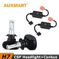 Auxmart H7 Car LED Headlight Kit 8000lm CSP CREE Chips Fog Light Canbus Error Code Canceller For Hyundai Honda Toyota