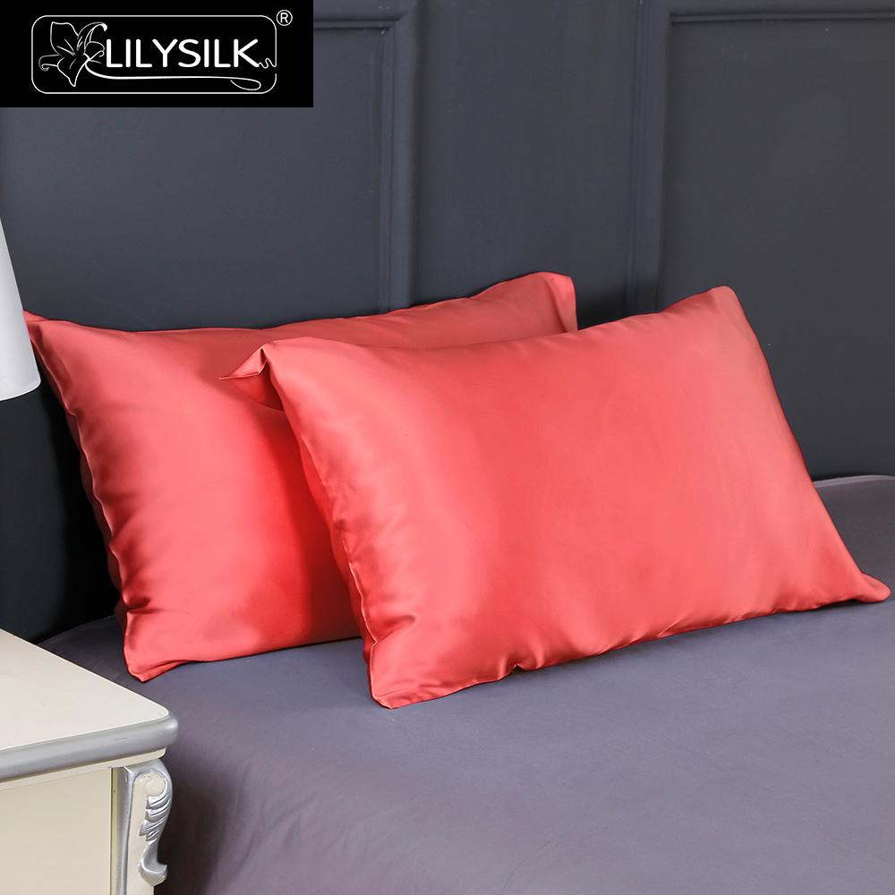 Lilysilk Terse Silk Pillowcase 100 Pure Mulberry Silk